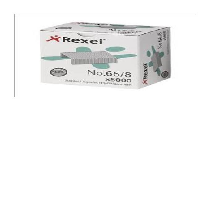 Agrafes Rexel 66/8 1X5000