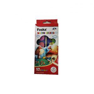 Aguarela Foska 12 Cores C/ Pincel