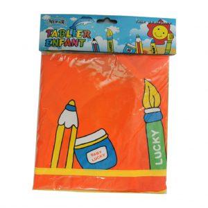 Avental Infantil Plastico C/ Mangas