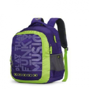 Bingo Plus 01 Schol Bag-Purple
