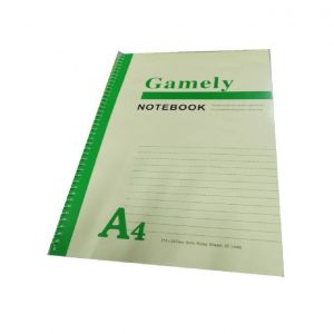 Caderno A4 Ruled 30lines