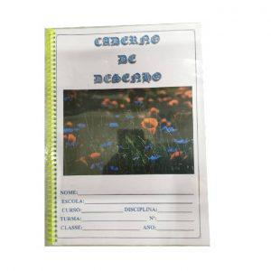 Caderno De Desenho 40 Folhas C/ Aspiral