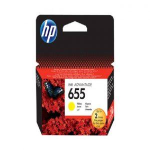 Cartridge HP  655 Yellow