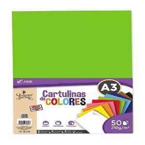 Cartulina A3 Color 210G