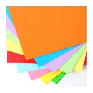 Resma Cartulina A4 Color 1×100 160Gsm