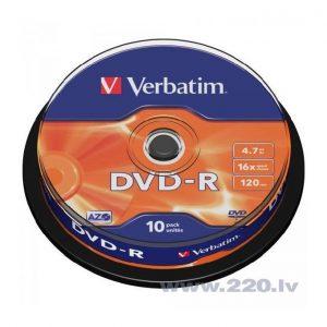 Dvd-R Verbatim 16X4.7Gb /120M
