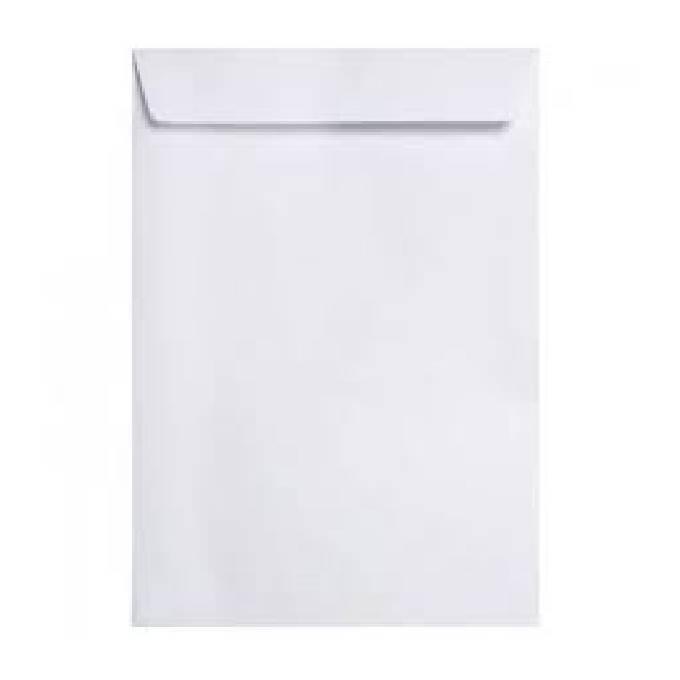 Envelope A4 Branco Com Fita Ref 7709