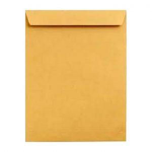 Envelope A4 Kaki Com Fita Ref 7701