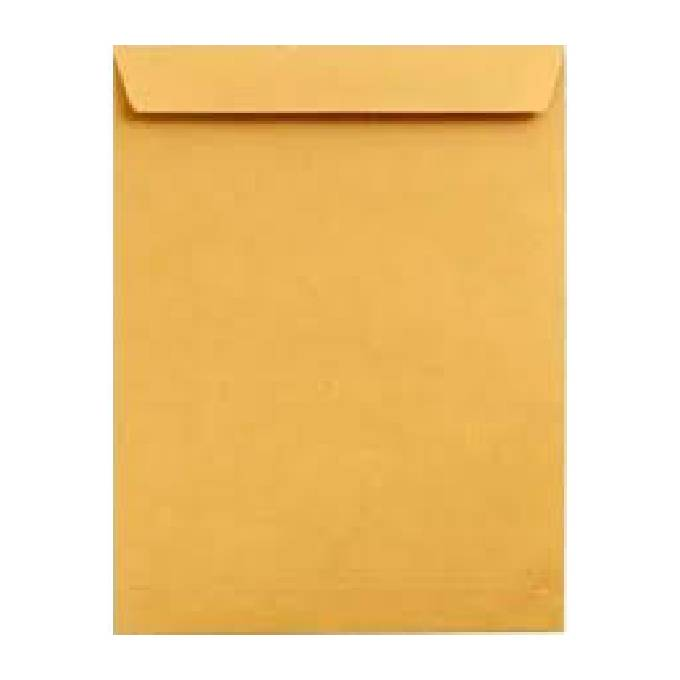 Envelope A4 Kaki Com Fita – Leo