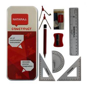 Estojo Natraj Conjunto de Instrumentos Matematicos