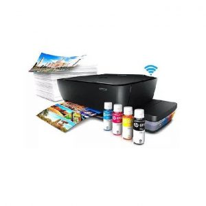 HP Ink-Tank 415 Wireless Printer, 8Ppm Black, 5Ppm Color ( Print, Scan & Copy) Cartridge Up-To  Black – 5,000Pgs, Color -8,000 Pgs