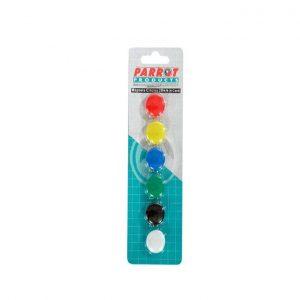 Magnetico Redondo Parrot  P/ Quadro 1X6