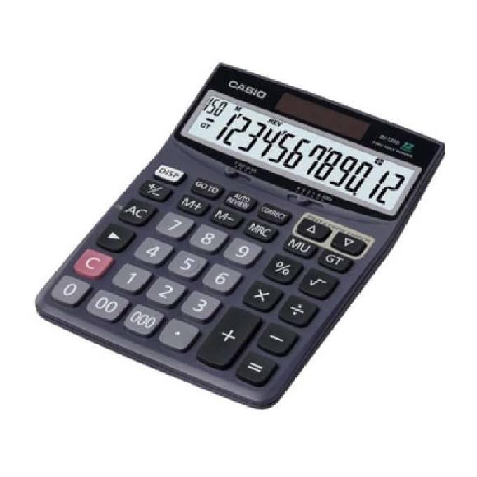 Maquina Calcular Casio DJ 120 12Dig