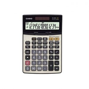Maquina Calcular Casio DJ240D 14 Digitos