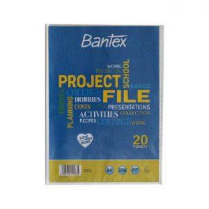 Pasta Show File Bantex 20 Fls 3312