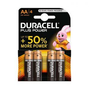 Pilha Alkalina Duracel Simply AA 1X4
