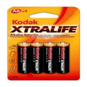 Pilha Alkalina Kodak X-Tralife AA 1X4 Ref. 22030