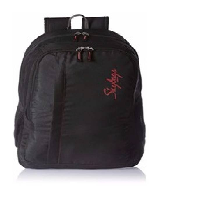 Spade School/Laptop Backpack Black