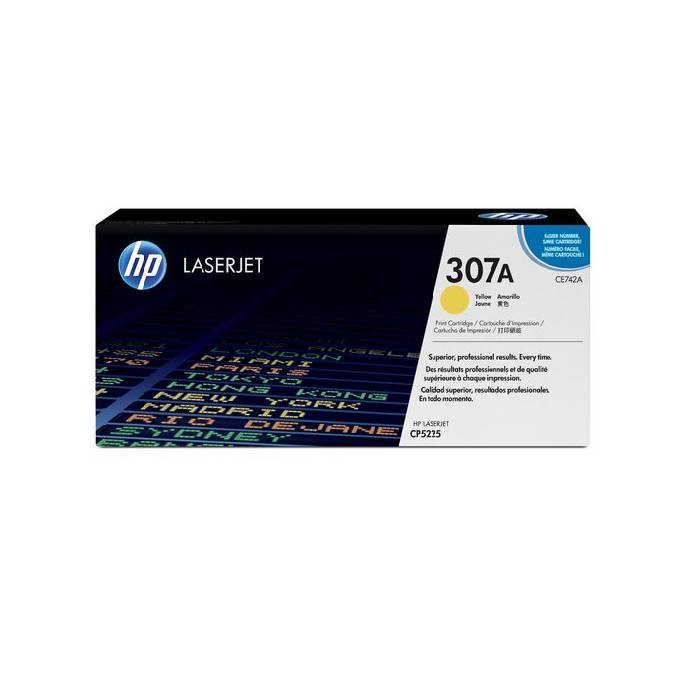 Toner HP 743A (307A) Yellow